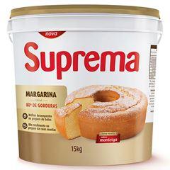 Margarina 80% Suprema Sabor Manteiga 15kg