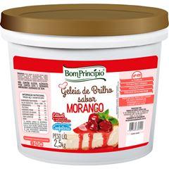 Geleia De Brilho Morango Bom Principio 2,5kg