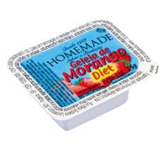 Geleia Morango/Goiaba Diet Sachet Homemade Caixa Com 144 Unidades