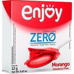 Gelatina Zero Morango Enjoy 26x12g