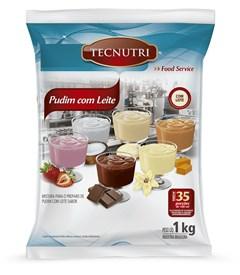 Mistura Pó Pudim Chocolate Com Leite Tecnutri 1kg