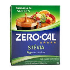Adoçante Pó Stevia Zero Cal Caixa 500x800mg
