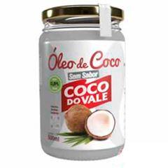 Óleo de Coco do Vale Sem Sabor Unidade 500ml