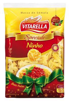 Macarrão Ninho Sêmola Vitarella Caixa 20x500g