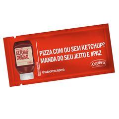 Ketchup Tradicional Sachet Cepêra 175x7g