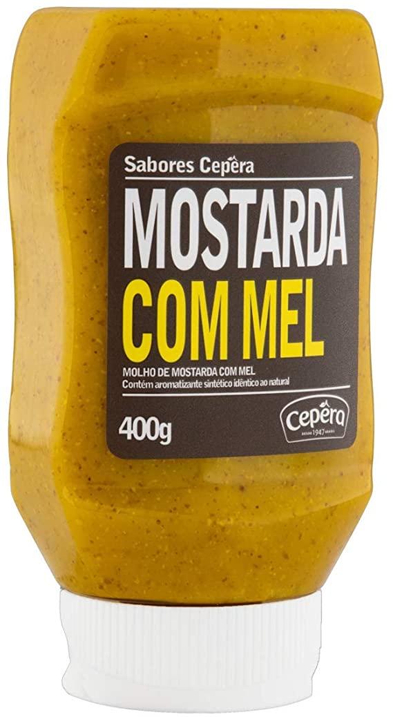 MOSTARDA COM MEL CEPÊRA 400G