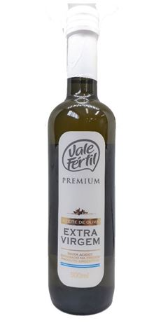 Azeite Extra Virgem Premium Vale Fértil Vidro 500ml