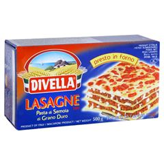 Massa N 109 Lasagne Semola Divella 500g