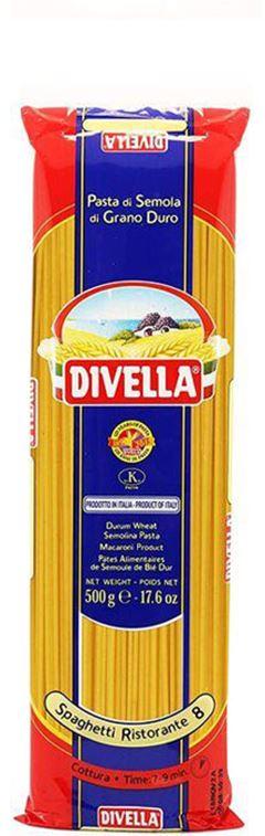 Massa N 8 Spaghetti Ristorant Divella 500g