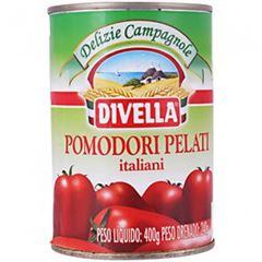Pomodoro Pelati Lata Easy Open Divella 240g