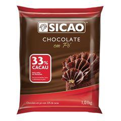 Chocolate Em Po 33% Cacau Sicao 1,01kg
