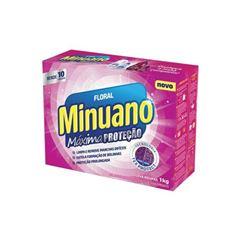 Detergente em Pó Minuano Floral Caixa 20x900g