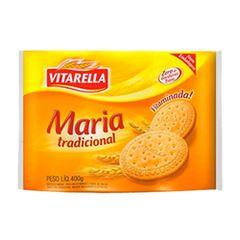 Biscoito Maria Tradicional Vitarella Caixa 20x400g