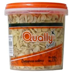 Cogumelo Fatiado Qually 2kg