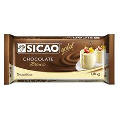 Chocolate Gold Branco Barra Sicao 1,01kg