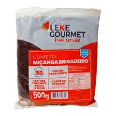 Confeito Brigadeiro Leke 500g