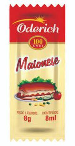 Maionese Sachet Oderich Caixa 200x8g