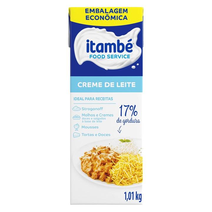 Creme de Leite 17% Cartonado Itambé Caixa 1,01kg