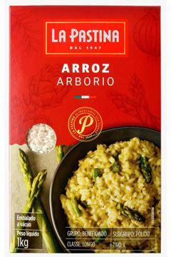 Arroz Arbório IT La Pastina 1kg