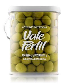 Azeitona Verde Grauda Vale Fértil 2kg