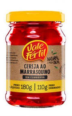 Cereja Marasquinho Vale Fértil Vidro 110g