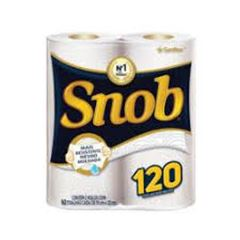 Papel Toalha Snob Branco Fardo 12X2X60 Folhas