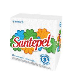 Guardanapo Santepel P 24X22cm Fardo 16X50 Unidades