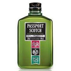 Whisky Passport Scotch Petaca 250ml