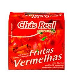 Chá Real Frutas Vermelhas com Canela Cacheta 5x10x1,5g