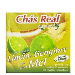 Chá Real Limão Gengibre e Mel Cacheta 5x10x1,4g