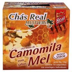 Chá Real Camomila e Mel Cacheta 5x10x1,4g