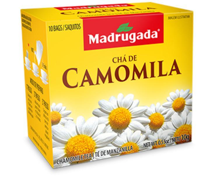 CHÁ CAMOMILA REAL 5X10X1G