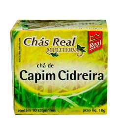 Chá Real Capim Cidreira Cacheta 5x10x1g