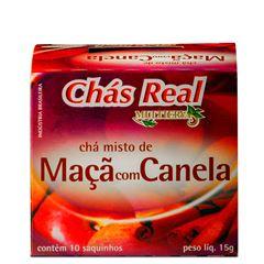 Chá Real Fruta Maçã com Canela Cacheta 5x10x1,5g