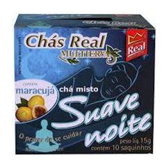 Chá Real Suave Noite Cacheta 5x10x1,5g