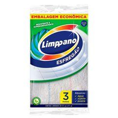 Esfregão Limppano Grandes Superfícies Pacote com 24 Unidades