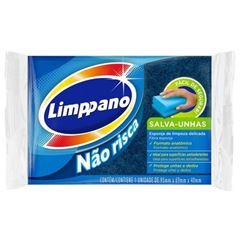 Esponja Limppano Antiaderente Fardo com 60 Unidades