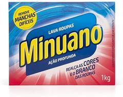 Detergente em Pó Ação Profundo Minuano Caixa 20x1kg