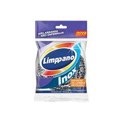 Esponja Limppano de Aço Inox Caixa com 24 Unidades