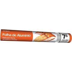 Papel Aluminio 7,5cm X 30cm Lumipam 25x1