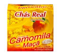 Chá Real Camomila Com Maçã Cacheta 5x10x1g