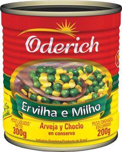 Ervilha e Milho Oderich Caixa 24x200g