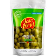 Azeitona Verde Vale Fértil Doy Pack Caixa 12x500g