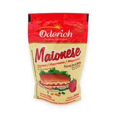 Maionese Stand-Up Pouch Oderich Caixa 24x200g