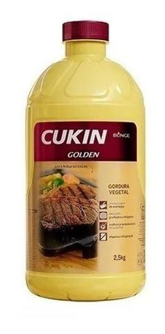 Gordura Vegetal Cukin Golden Bunge 2,5kg
