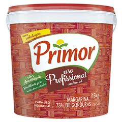 Margarina Primor 15kg