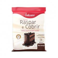 Raspar E Cobrir Meio Amargo Salware 5kg