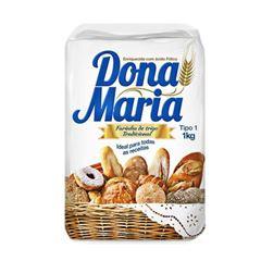 Farinha Trigo Sem Fermento Dona Maria 10x1kg