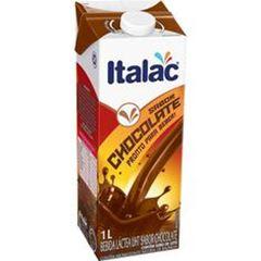 Bebida Láctea Chocolate Com Tampa Italac 1 Litro