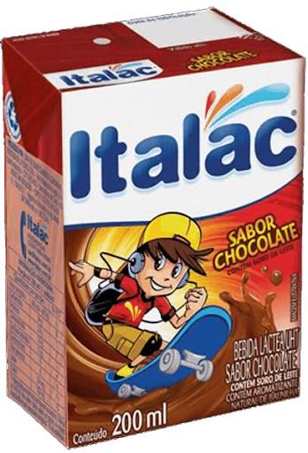 Bebida Láctea Chocolate Italac 24x200ml